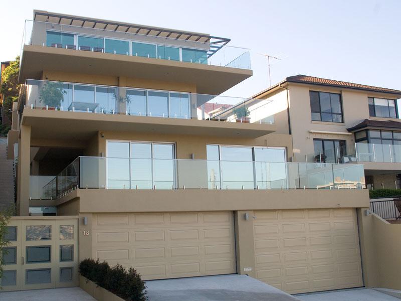 Glass Balustrade Residential Sydney